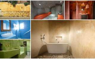 Марокканская штукатурка – материалы и техника нанесения уникального, влагостойкого покрытия