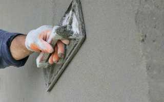 Можно ли пескобетоном штукатурить стены – пошаговая технология