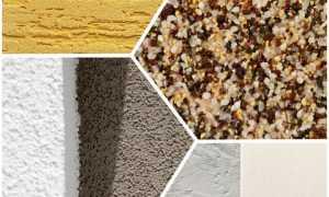 Виды штукатурных смесей для внутренних и наружных работ