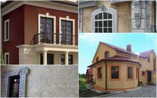 Декоративная штукатурка фасадов: виды, состав смесей, подготовка работ и инструмент