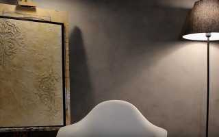 Трафарет для декоративной штукатурки стен: изготовление и применение
