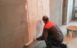 Штукатурка стен по маякам – простой способ выравнивания поверхности стен