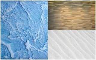 Штукатурка волна – создайте рукотворное море у себя дома