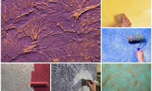 Как покрасить декоративную штукатурку своими руками пошаговая технология
