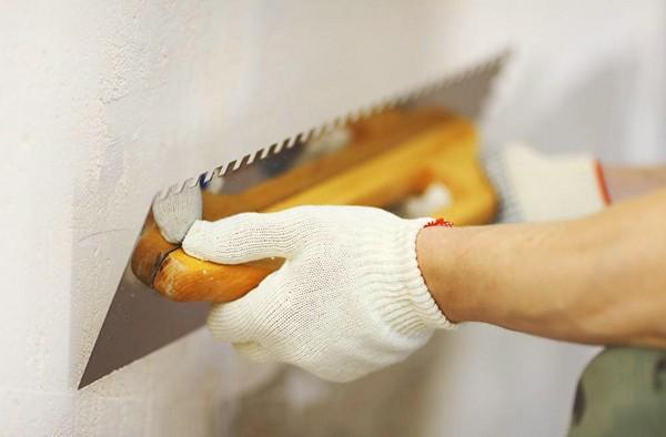 Подготовка поверхности стен к нанесению декоративной штукатурки