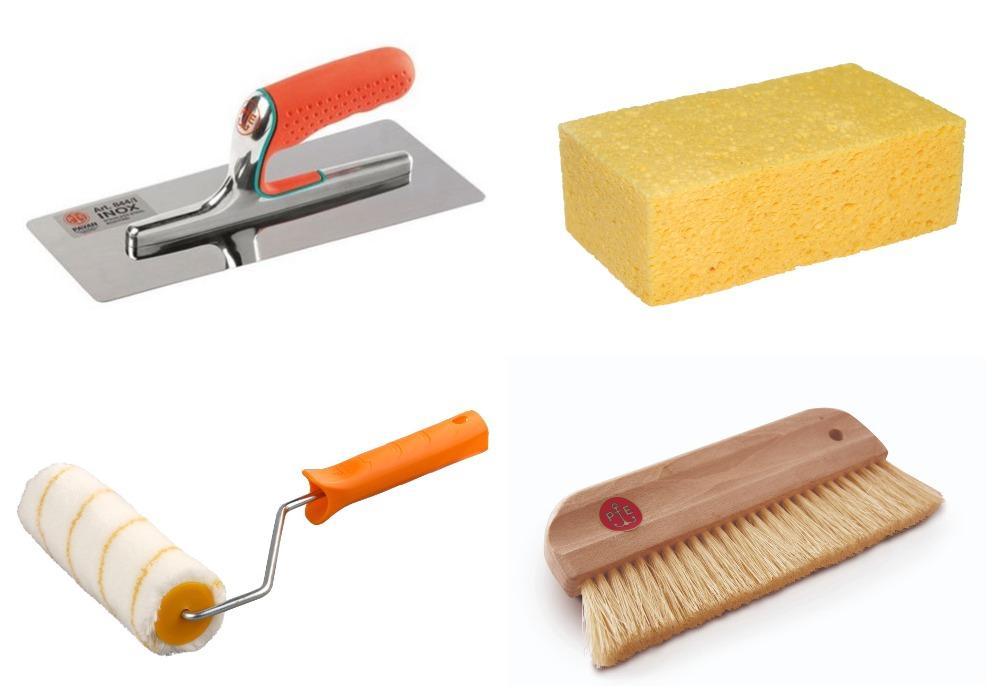 инструмент для структурной штукатурки