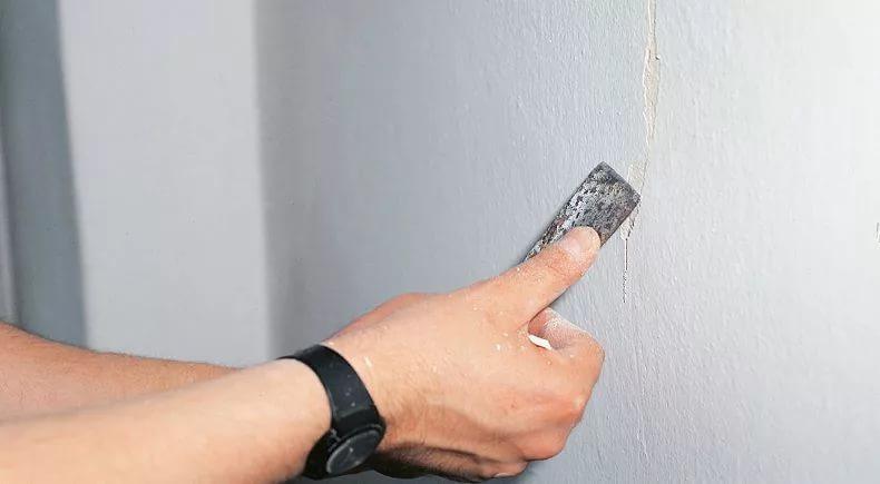 устранение трещин на стенах