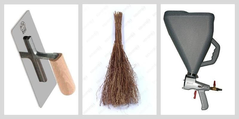 инструмент для штукатурки шуба