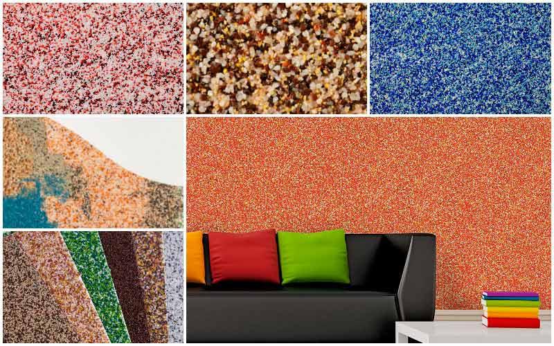 Мозаичная штукатурка стен фасада и цоколя: виды смеси, технология