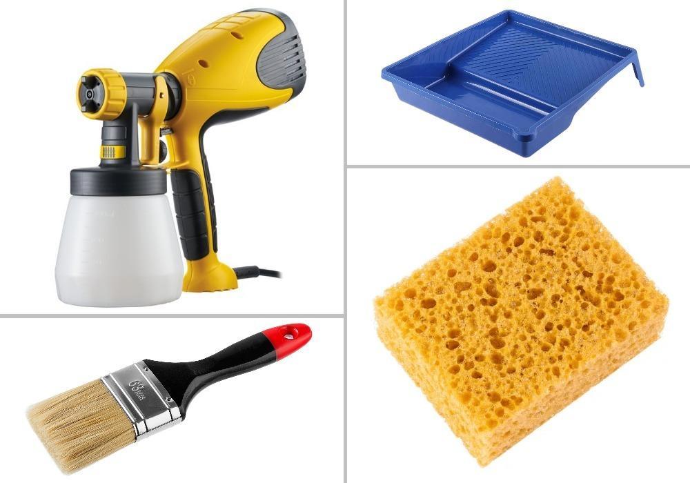 инструмент для окраски декоративной штукатурки