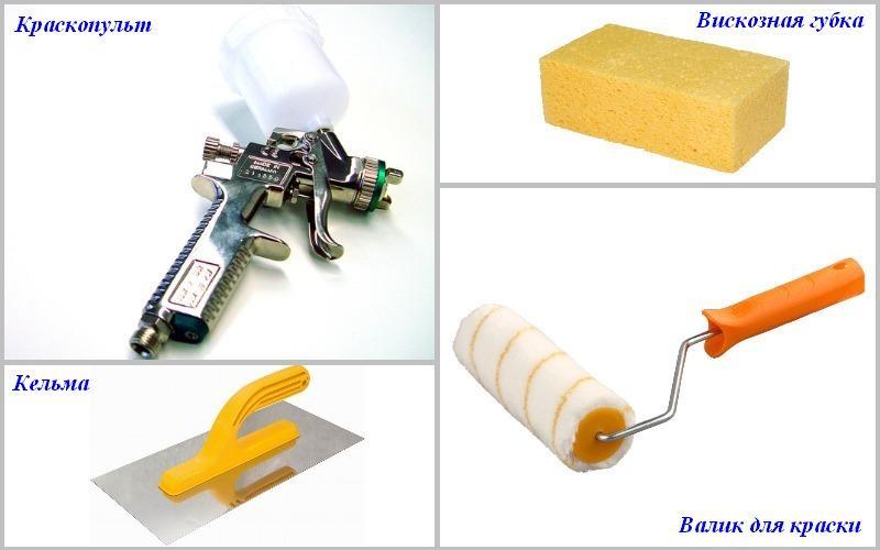 инструмент для штукатурки кракелюр