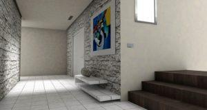 декоративная штукатурка в коридоре_1