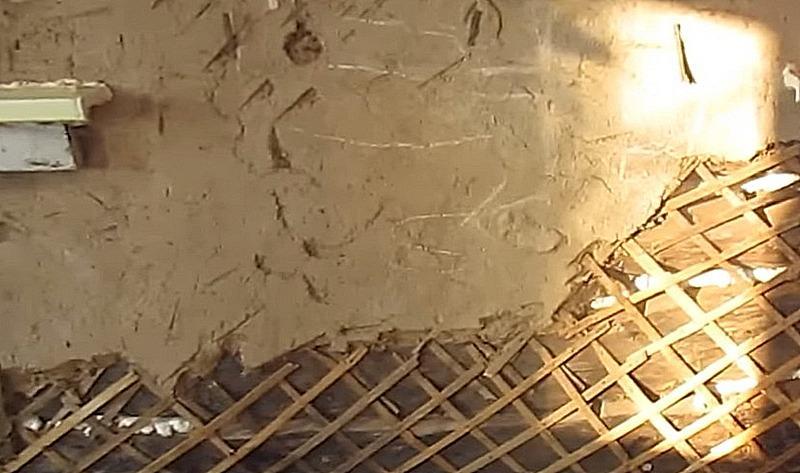 установка дранки на деревянные стены