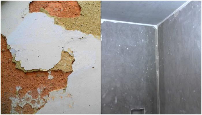 подготовка стен к нанесению санирующей штукатурки