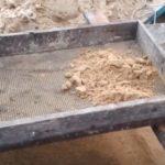 просев песка