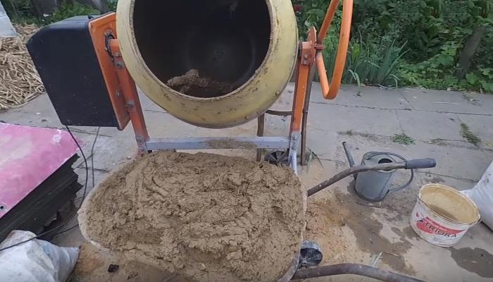 Глиняно-песчаный раствор
