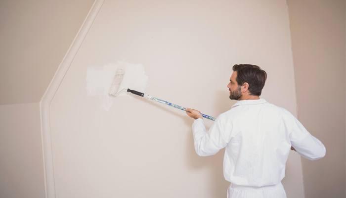 покраска стены