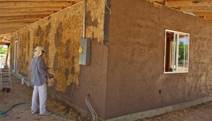 штукатурка деревянного дома снаружи