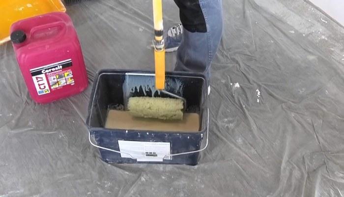 Подготовка грунтовки