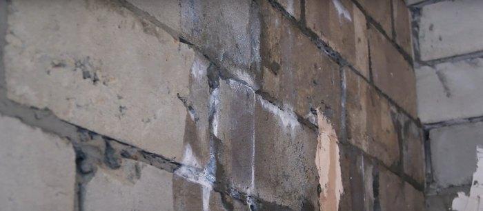 грунтовка на стене