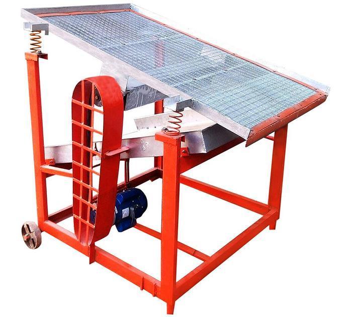 установка для очистки сыпучих строительных смесей
