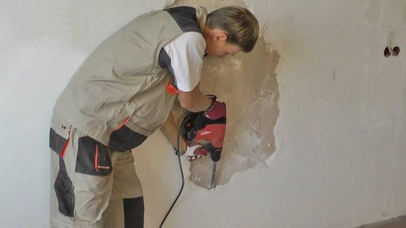 как снять декоративную штукатурку со стен