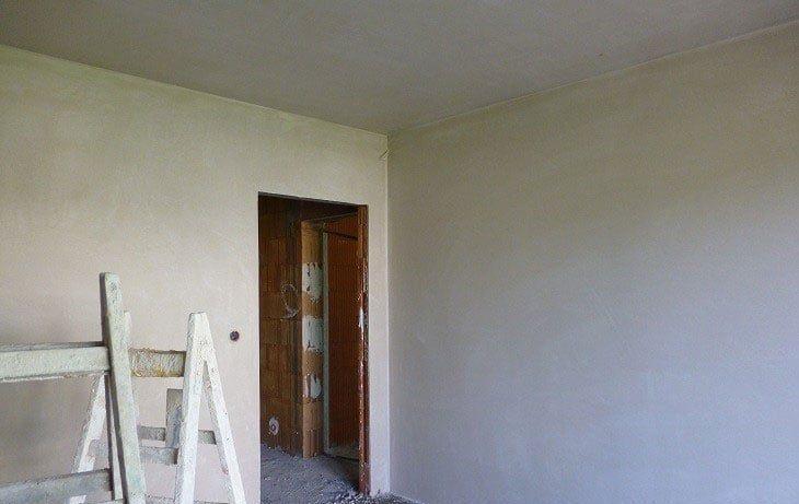 ровные стены после штукатурки