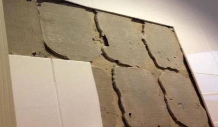 снятие плитки со стен