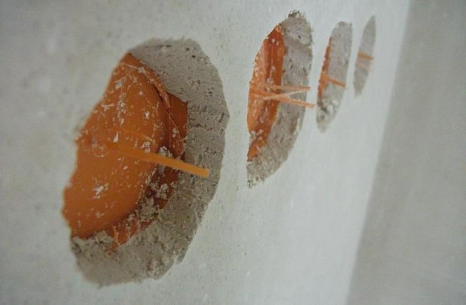 толщина штукатурки после электрики