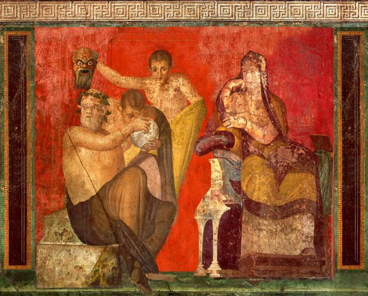 фреска из Помпеи