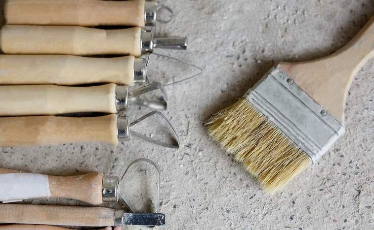 инструменты для создания барельефа
