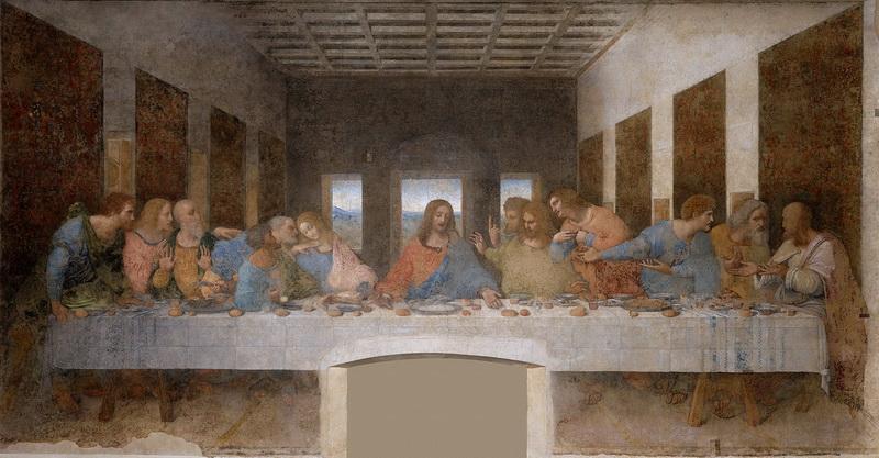 тайная вечеря фреска