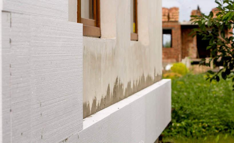 утепление стен пенопластом под штукатурку