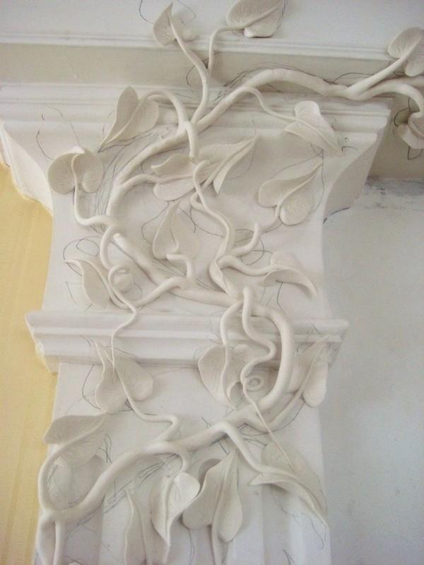 ветки орнамента армированы